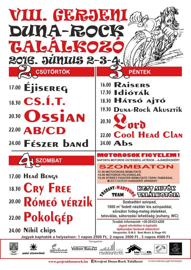 Gerjeni Duna rock plakát 2016 (1)